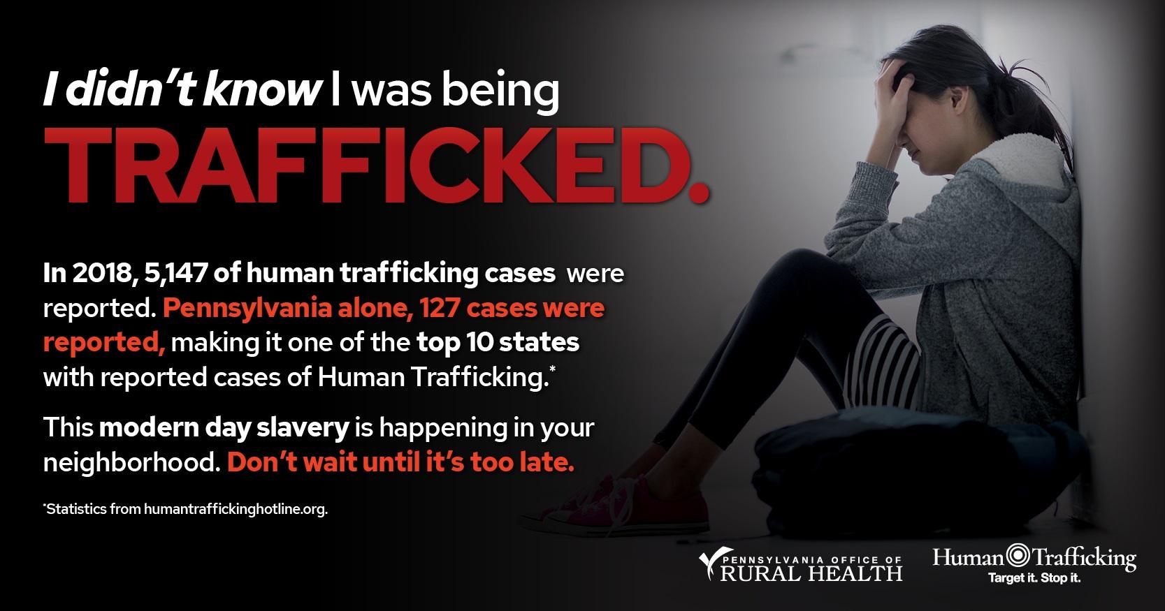 2019 Rural Human Trafficking Summit   Pennsylvania Office of Rural Health