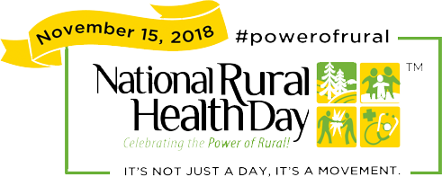 National Rural Health Day - November 15, 2018