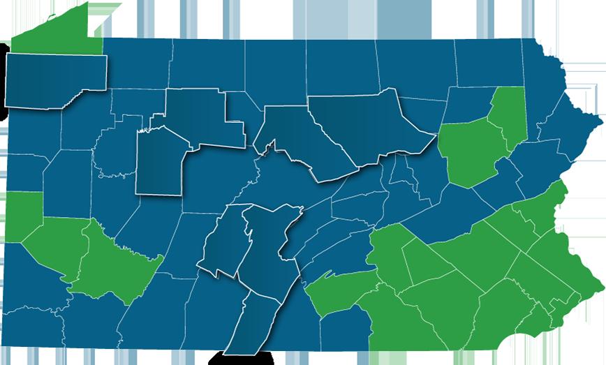 Pennsylvania Counties